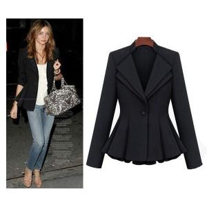 Celebrity Miranda puf ramena blazer