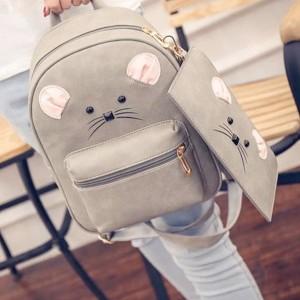 Casual školski Miš ruksak s novčanikom
