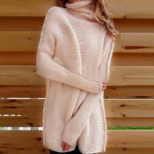 Pleteni dolčevita pulover