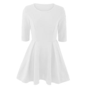 Mini elegantna skater haljina