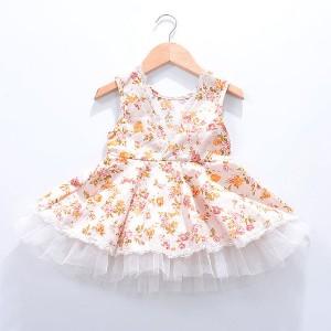 Tutu haljinica na cvjetiće