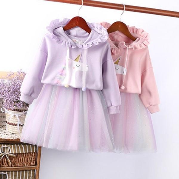 Dječji jednorog komplet majica + suknja od tila *Posebna ponuda*