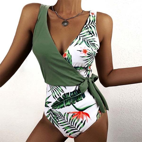 Jednodijelni push up kupaći kostim preklopnog izgleda *Limitirana kolekcija*