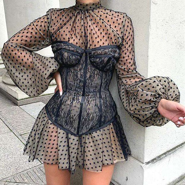 Luksuzna mini haljina s korzetom *Limitirana kolekcija*
