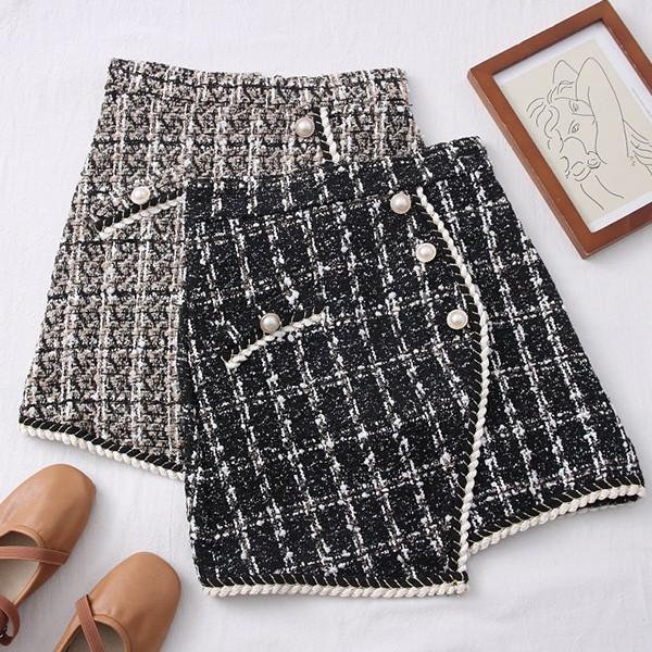 Mini suknja od tvida 25 MODELA