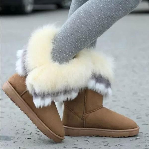Snježne čizme s krznom