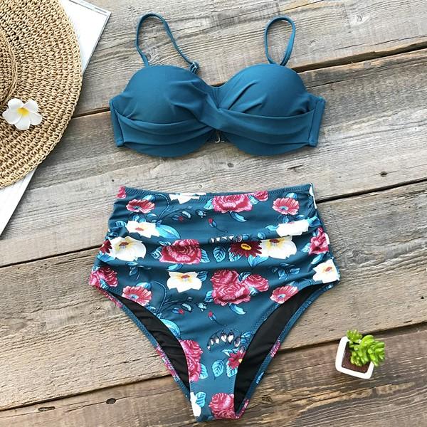 Retro push up kupaći kostim s gaćicama povišenog struka 3 modela