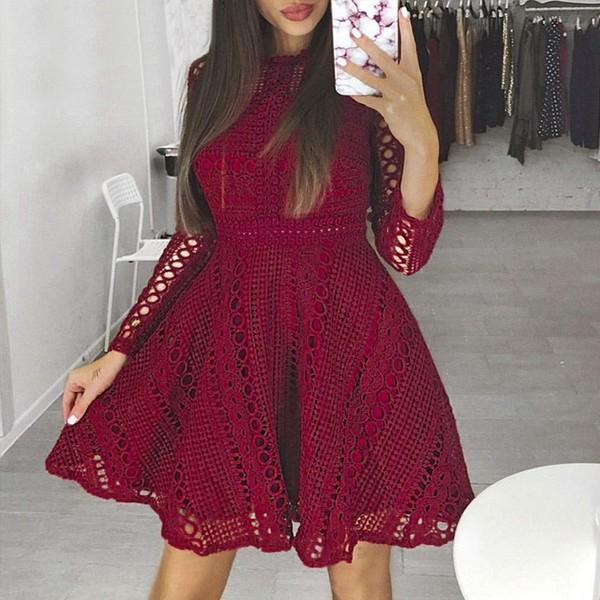 Čipkana mini haljina zvono kroja *limitirana kolekcija*