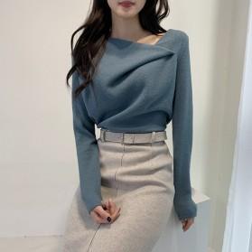 Elegantna nabrana bluza dugih rukava 3 boje