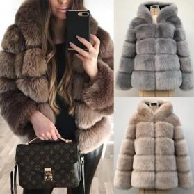 Kratka luksuzna zimska bunda s kapuljačom
