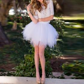 Tutu asimetrična mini suknja