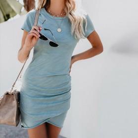 Mini casual nabrana haljina