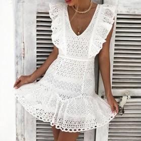 Mini pamučna haljina na volane *limitirana kolekcija*