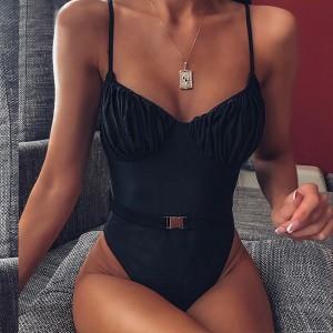 Push up jednodijelni kupaći kostim s remenom 2 modela