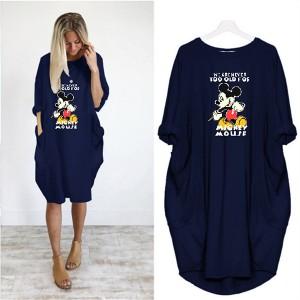 tamno plava Mickey