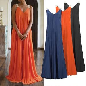 Duga haljina vrećastog kroja
