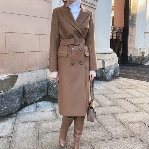 Klasični kaput srednje duljine s remenom *Limitirana kolekcija*