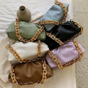 Nabrana torbica s lancem 7 BOJA