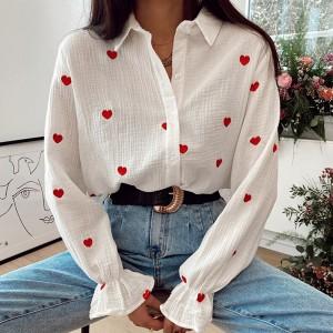 bijela crvena srca