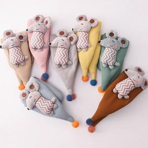 Dječji pamučni šal za dječake i djevojčice s 3D mišem 7 BOJA