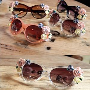 Sunčane naočale sa 3D cvjetovima