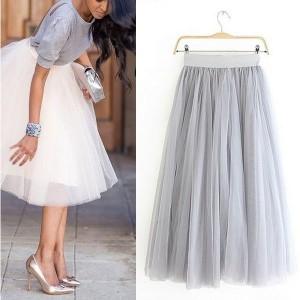 Midi tutu princeza suknja