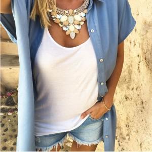 Šaptač cipelama & Tamarix unikatna luksuzna ogrlica