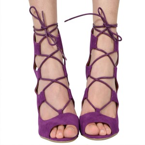 Gladijator sandale stabilna peta