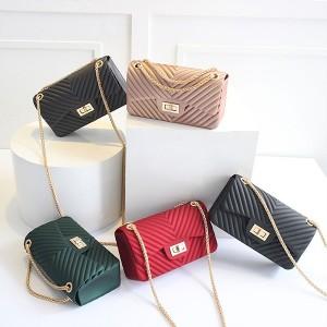 Klasična luksuzna lanac jelly torbica