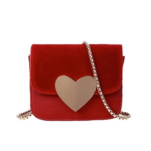 Mini messenger torbica sa srcem