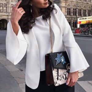 Luksuzni blazer zvono rukava