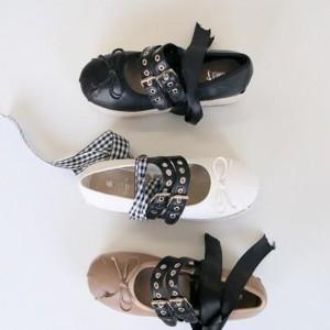Platforma espadrile s dvobojnim vezicama