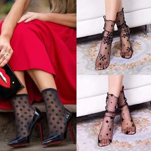 Najlonka čarapice razni uzorci