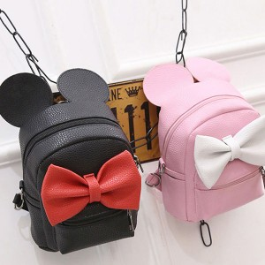 Mickey mini ruksak s ušima i mašnom