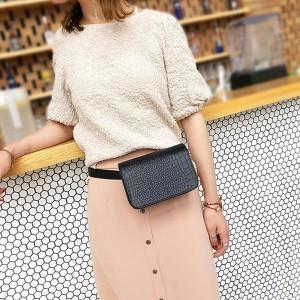 Mini torbica zmijskog printa za oko struka