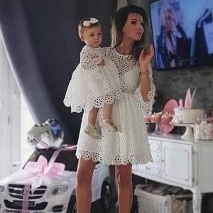 Komplet haljina za mame i djevojčice