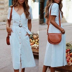 Midi haljina s remenom *limitirana kolekcija*