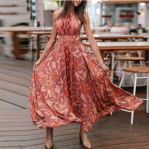 Duga boho kačkana haljina *limitirana kolekcija*