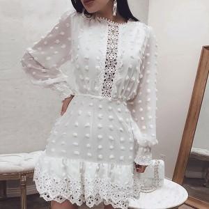 Mini kačkana haljina od šifona *limitirana kolekcija*
