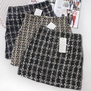Mini suknja od tvida