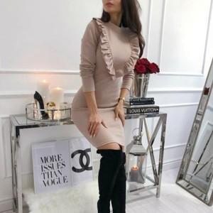 Mini haljina s volanima