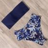 gaćice s listovima plavi top