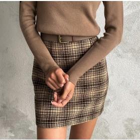 Mini vintage suknja visokog struka