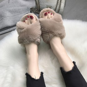 Otvorene krznene papuče 3 boje *Posebna ponuda*