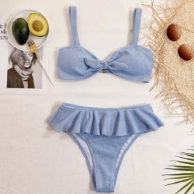 Push up dvodijelni kupaći kostim na volane