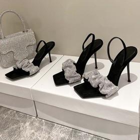 Luksuzne sandale s kristalima 2 visine pete 2 BOJE *Limitirana kolekcija*