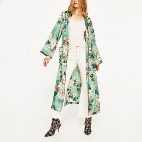 Maxi kimono cvjetni uzorak