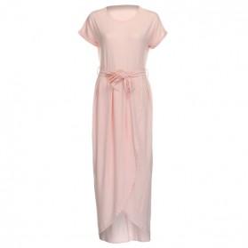 Duga asimetrična casual elegantna haljina standardni XL/42