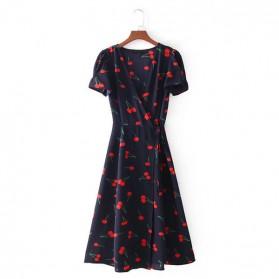 Midi haljina na preklop