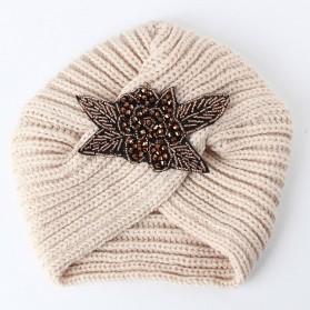 Vintage turban s perlicama